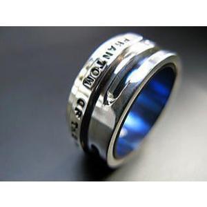 指輪 リング メンズ レディース シルバー チタン アクセサリー ハンドメイド アクセサリー 刻印 Glitter|dedo|03