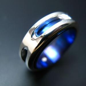 指輪 リング メンズ レディース シルバー チタン アクセサリー ハンドメイド アクセサリー Splendor_L dedo