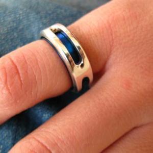 指輪 リング メンズ レディース シルバー チタン アクセサリー ハンドメイド アクセサリー Splendor_L dedo 02
