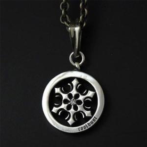 ペンダント ネックレス メンズ レディース 雪 結晶 雪の結晶 シルバー ハンドメイド symbolic snow|dedo|02