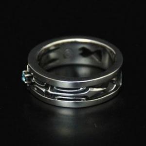 指輪 リング メンズ シルバー ハンドメイド yggdrasill|dedo|04