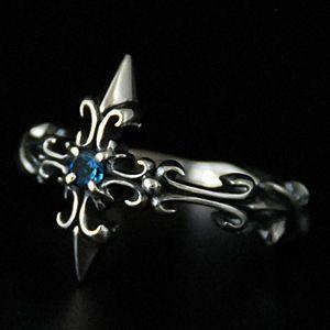 指輪 リング 十字 クロス メンズ シルバー ハンドメイド thistle cross|dedo