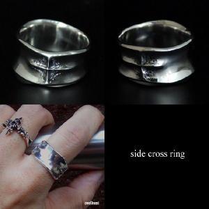指輪 リング メンズ クロス シルバー ハンドメイド side cross|dedo|02