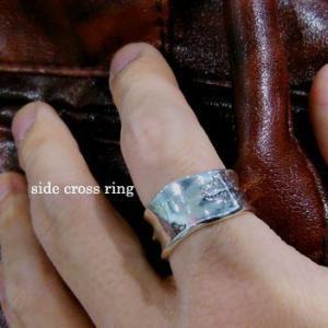 指輪 リング メンズ クロス シルバー ハンドメイド side cross|dedo|03