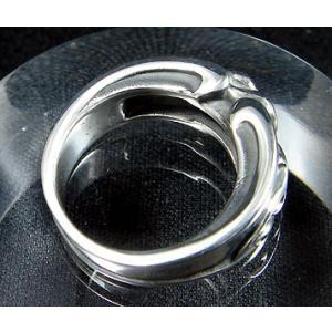 指輪 リング ハート 唐草 メンズ レディース シルバー ハンドメイド TIES(ティス)|dedo|05