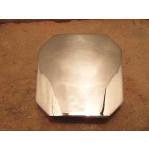 ベルト バックル レザー 革 メンズ シルバー スターリングシルバー ハンドメイド Octagon|dedo