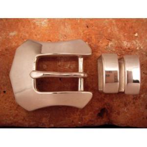 ベルト バックル レザー 革 メンズ シルバー ハンドメイド スターリングシルバー Westren|dedo