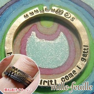 指輪 リング レディース 猫 ネコ ねこ ウサギ うさぎ 兎 シルバー 刻印 ハンドメイド アクセサリー mille-feuille  gattara gattaro dedo