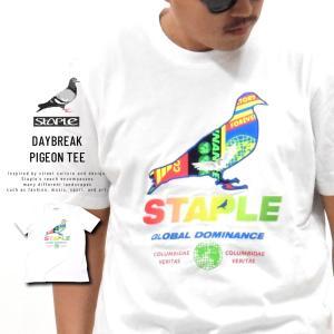 ステイプル (STAPLE) Tシャツ メンズ 半袖 デイブレイクピジョンTシャツ (2002C5903)|deep