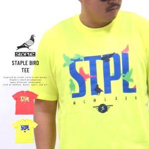 ステイプル (STAPLE) Tシャツ メンズ 半袖 ステイプルバードTシャツ (2002C5934)|deep