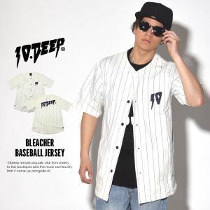 10DEEP テンディープ ベースボールシャツ メンズ 半袖...