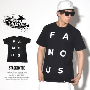 FAMOUS STARS AND STRAPS フェイマス Tシャツ メンズ 大きいサイズ STAC...