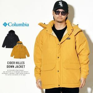 コロンビアから80年代に絶大な人気を誇った雨や汚れを弾く防滴・防汚機能を備えたダウンジャケットがブラ...
