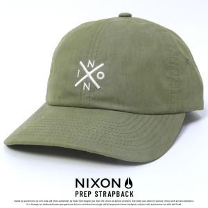 ニクソン キャップ 帽子 メンズ レディース PREP STRAPBACK プレップ ストラップバッ...