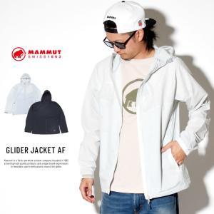 マムート マウンテンパーカー ウインドブレーカー ジャケット メンズ パッカブル 軽量 薄手 撥水 MAMMUT GLIDER JACKET AF 1012-00210 deep
