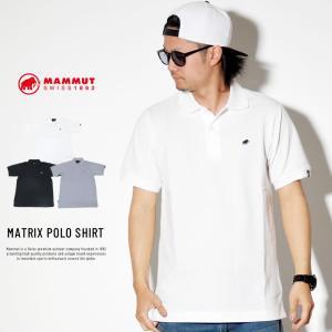 マムート ポロシャツ ゴルフウェア メンズ 半袖 薄手 軽量 吸汗速乾 MAMMUT MATRIX POLO SHIRT 1017-00400 deep