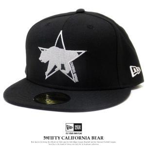 071b49509b743 ニューエラ キャップ 帽子 NEW ERA 59FIFTY カリフォルニアベアー スター ブラック 12028797