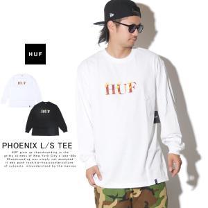 HUF ハフ ロンT 長袖Tシャツ メンズ PHOENIX L/S TEE TS00783 秋冬 新作|deep