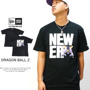 ニューエラ コラボ Tシャツ ドラゴンボールZ ギニュー スクエアニューエラ ブラック NEW ER...