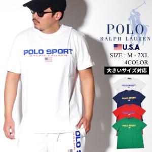 ポロスポーツ ラルフローレン Tシャツ メンズ 半袖 USAモデル Polo Sport Ralph...