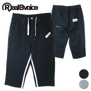 【RealBvoice】SEVEN LENGTH INSIDE LINE PANTS/クロップドパンツ deepblue-ocean