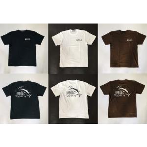 猛闘犬丸  コットンTシャツ 半袖 【渾身の一撃シリーズ】|deepblue-ocean