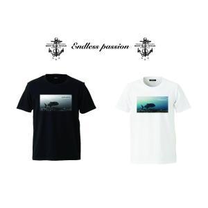 DEEP BLUE オリジナル コットンTシャツ(Endless passion) deepblue-ocean
