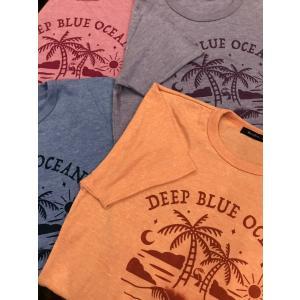 DEEP BLUE オリジナル トライブレンドTシャツ(Utopia) deepblue-ocean