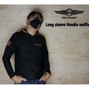 MCワークス Long sleeve waffle parka ロングスリーブワッフルパーカー|deepblue-ocean