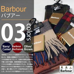 Barbour / バブアー - ウールチェックマフラー|deepstandard