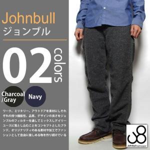 JOHNBULL / ジョンブル - ネップヤーン ぺインターパンツ|deepstandard