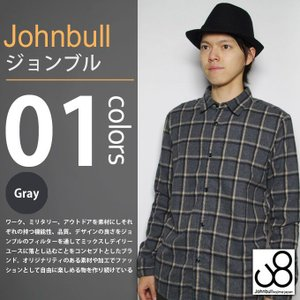 JOHNBULL / ジョンブル - チェック 長袖シャツ|deepstandard