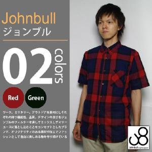 JOHNBULL / ジョンブル - シャーリングB.D 半袖シャツ|deepstandard