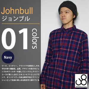 JOHNBULL / ジョンブル - シャーリング チェック 長袖シャツ|deepstandard