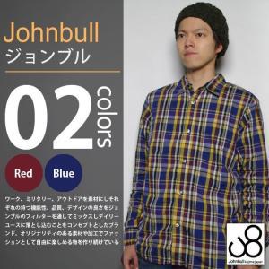 Johnbull/ジョンブル - シャーリング チェック 長袖シャツ|deepstandard