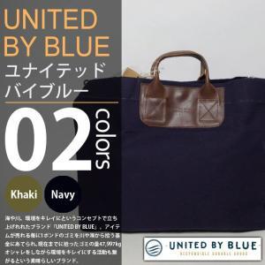 UNITED BY BLUE / ユナイテッドバイブルー - SADDLEBACK TOTE BAG / トートバッグ|deepstandard