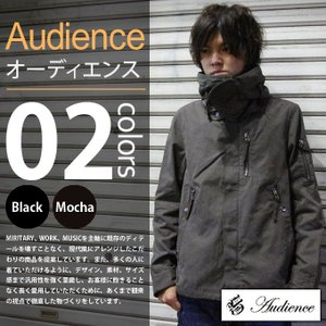 Audience / オーディエンス - 高密度 C/Nクロスモダン M-51 ショートブルゾン モッズコート|deepstandard