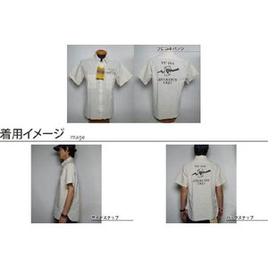 Buzz Rickson's / バズリクソンズ - ホワイトシャンブレー半袖ワークシャツ|deepstandard|03