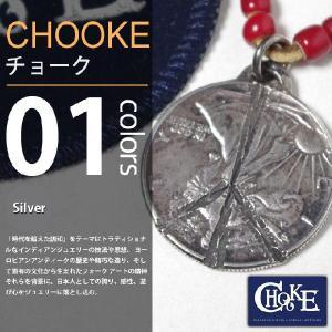 CHOOKE / チョーク - Liberty Peace Stamp / オールドコインペンダントトップ|deepstandard