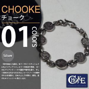 【取り寄せ】CHOOKE / チョーク - Two Face Chain-brace / オールドコインブレスレット|deepstandard
