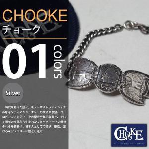 CHOOKE / チョーク - Indian&Eagle Chain-brace 51¢ / オールドコインブレスレット|deepstandard