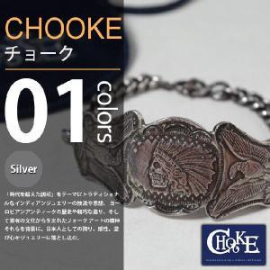 【取り寄せ】CHOOKE / チョーク - Indian&Eagle Chain-brace 12$ / オールドコインブレスレット|deepstandard