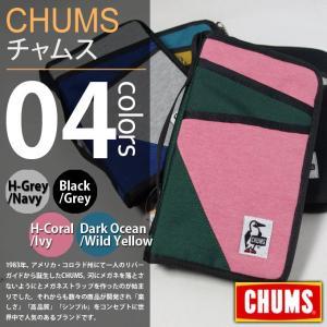 CHUMS / チャムス - Travel Case Sweat Nylon / トラベルケーススウェットナイロン deepstandard
