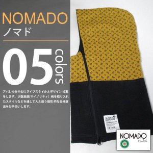 NOMADO / ノマド - HOT-KAMURI / ホッカムリ ネックウォーマー(Zip)|deepstandard