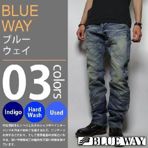 BLUE WAY / ブルーウェイ - ビンテージデニム エンジニアインカットジーンズ|deepstandard