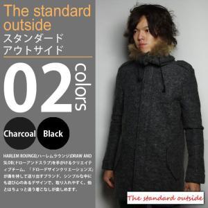 The Standard outside / スタンダードアウトサイド - ウールモッズコート|deepstandard