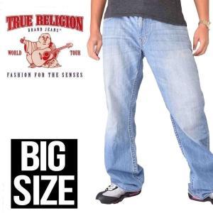 SALE 大きいサイズ メンズ トゥルーレリジョン TRUE...