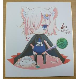 複製色紙 デフォたん(スク水)|deform-shop