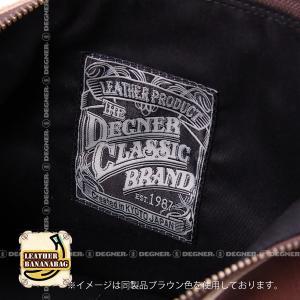 レザー ボディ バッグ バナナ LEATHER BODY BAG BANANA ブラック W-105-BK degner-jp 07