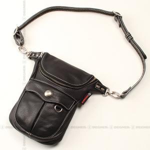 ロングウォレットバッグ/LONG WALLET BAG(ブラック) [W-32-BK]|degner-jp